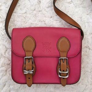 Lauren Ralph Lauren Pink Cross-body Mini Bag